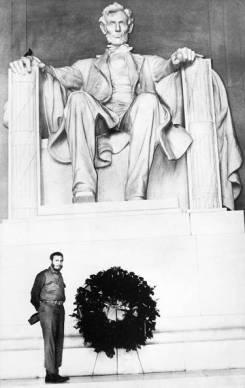 Fidel en Estados Unidos, abril de 1959.