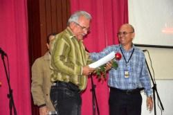 Acto de reconocimiento por el Día de la Ciencia Cubana efectuado en la Sede José de la Luz y Caballero, de la Universidad de Holguín, el 13 de enero de 2017. UHO FOTO/Luis Ernesto Ruiz Martínez