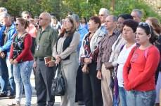 Homenaje de estudiantes y trabajadores de la Universidad de Holguín a Celia Sánchez Manduley en el aniversario 37 de su desaparición física. Efectuado el 11 de enero de 2017. UHO FOTO/Luis Ernesto Ruiz Martínez.