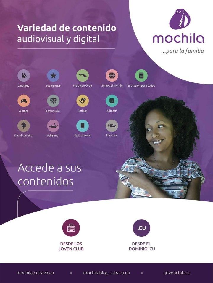 Promoción de la Mochila.