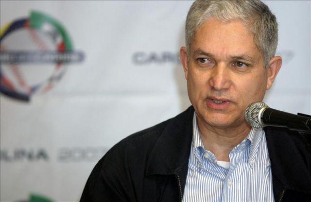 Juan Francisco Puello, comisionado de beisbol del Caribe.