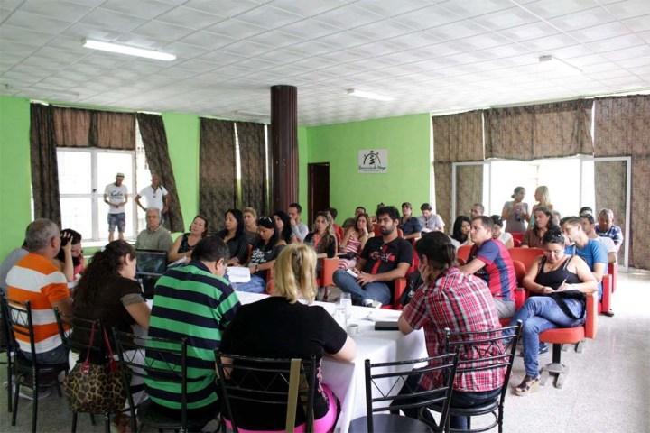 Las reuniones del Comité Organizador se desarrollan en el Puesto de Mando de Romerías, ubicado en el Gabinete Caligari.