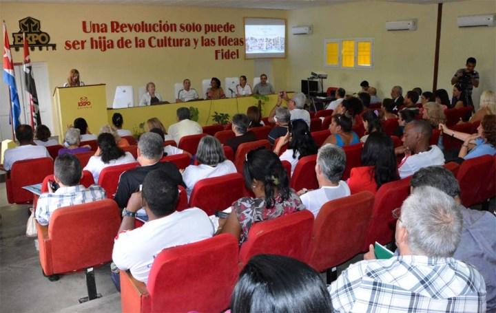 Acto de clausura de Expociencia 2017, efectuado el 24 de febrero de 2017 en Expo Holguín. VDC FOTO/Luis Ernesto Ruiz Martínez.