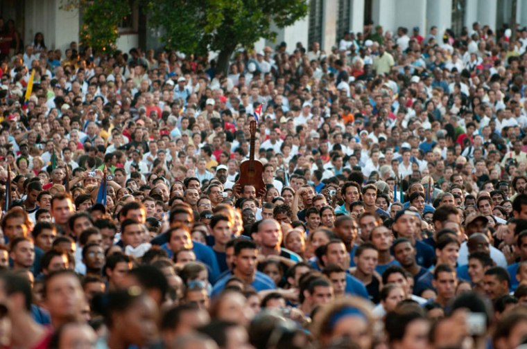Hay símbolos que destacan entre la multitud. Foto tomada de internet.