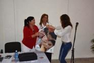 La UJC reconoce a Yudith Laura Ferreiro Fuentes, Delegada a la Asamblea Provincial y Decana de la Facultad de Educación Infantil, Psicopedagogía y Arte de la Universidad de Holguín. 14 de febrero de 2017. UHO FOTO/Luis Ernesto Ruiz Martínez