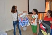 La UJC reconoce a Gretel Ramírez, Presidenta de la FEU de la Universidad de Holguín. 14 de febrero de 2017. UHO FOTO/Luis Ernesto Ruiz Martínez