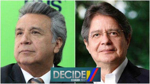 Ecuador debe decidir el 2 de abril entre Lenin Moreno y Guillermo Lasso para conducir los destinos de la nación.