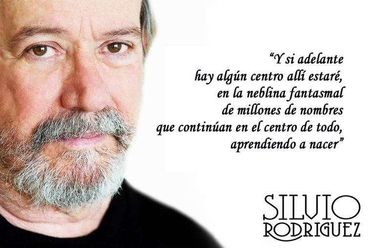 Soy un hombre de centro, afirma Silvio Rodríguez.