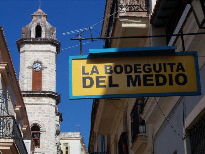 La Bodeguita del Medio. Foto tomada de internet.
