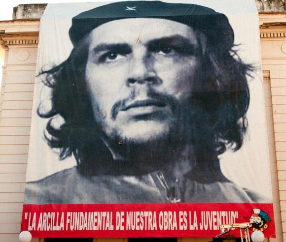 Palabras del Che que siguen teniendo vigencia impresionante. Foto: Roberto Chile.