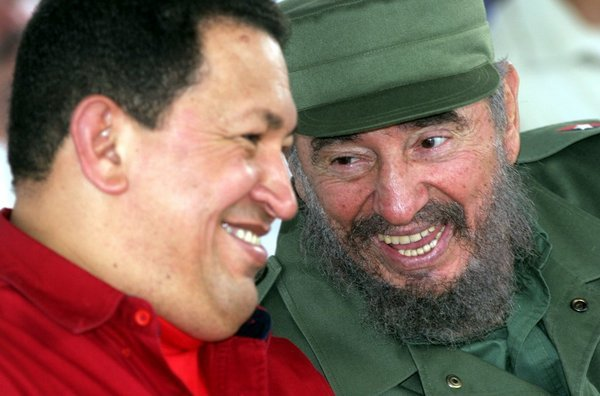 Chávez y Fidel siguen siendo ejemplos para los pueblos de Nuestra América.