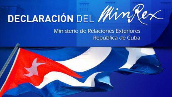 Venezuela no está sola, afirma el MINREX