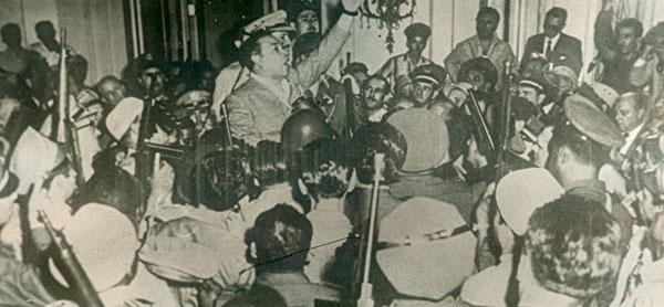 El golpe de Estado del 10 de marzo de 1952, dirigido por Batista, violentó el orden constitucional en Cuba.Foto: Archivo Juventud Rebelde.