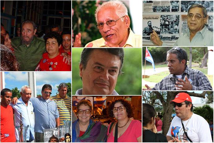 Mente clara y agil, corazón ardiente y manos limpias, caracterizan a los miembros de la seguridad cubana. Diseño: VdC.