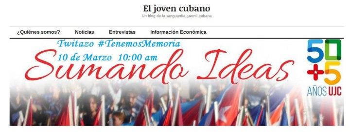 La Juventud Cubana convoca.