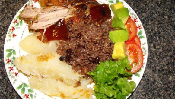Comida típica cubana. Foto tomada de internet.