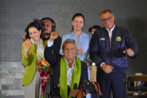 Lenín Moreno: Con el veredicto final estaremos celebrando el resultado   Foto: @lenin