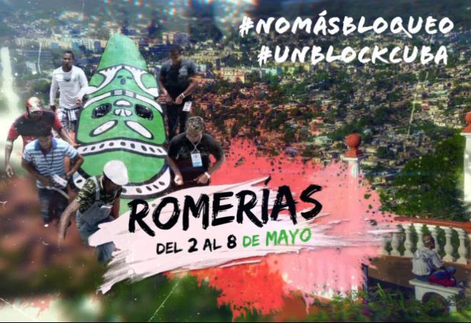 Participantes en Romerías de Mayo exigirán fin del bloqueo.