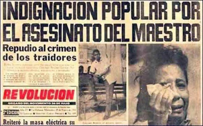Así describió la prensa el dolor ante la muerte de Conrado Benítez García.