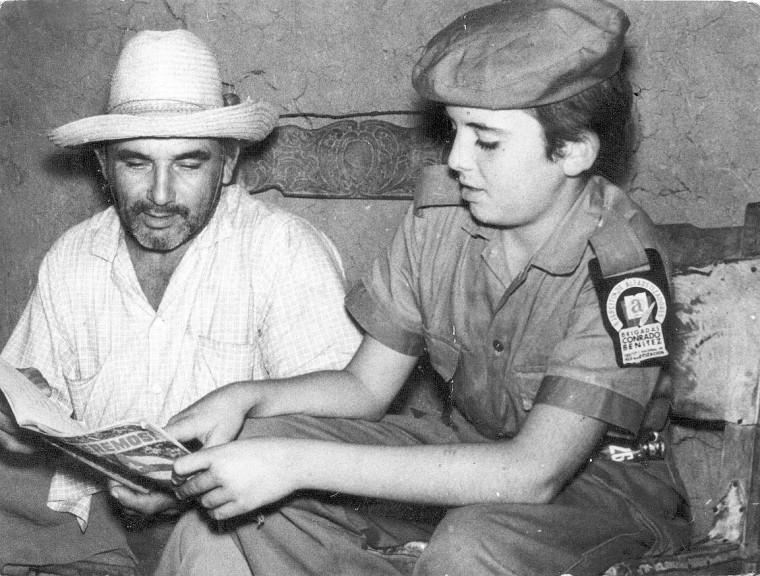 En apenas un año, la Campaña Nacional de Alfabetización proporcionó el acceso de todos los cubanos a la educación. Foto: Archivo/Trabajadores.