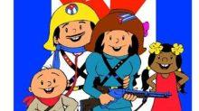 Personajes de los animados de Elpidio Valdés.