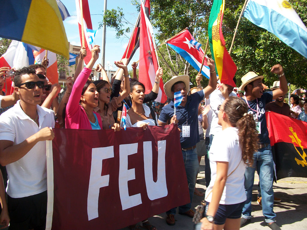 Image result for Cuban Federation of University Students (FEU)