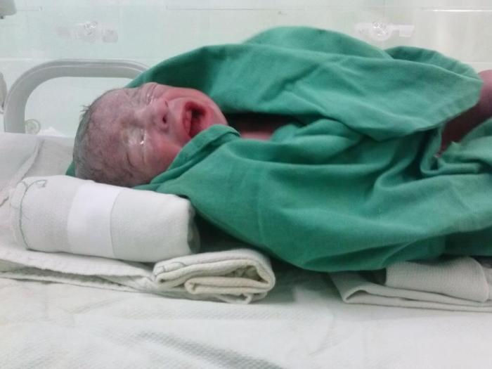 Nacen trillizos en Ciego de Avila. Foto: Yonaika Rodríguez.
