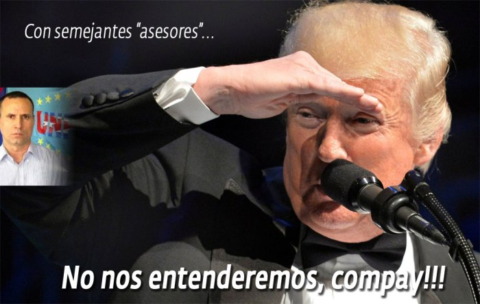 "Los mercenarios no paran en sus intentos por ""convencer"" a Trump."