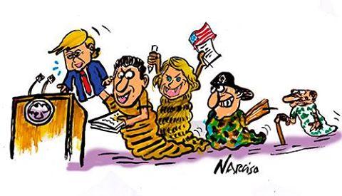 Trump apuesta por la gusanera de Miami para derrotar a Cuba.