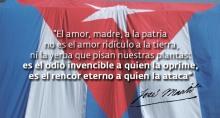 José Martí fue claro.