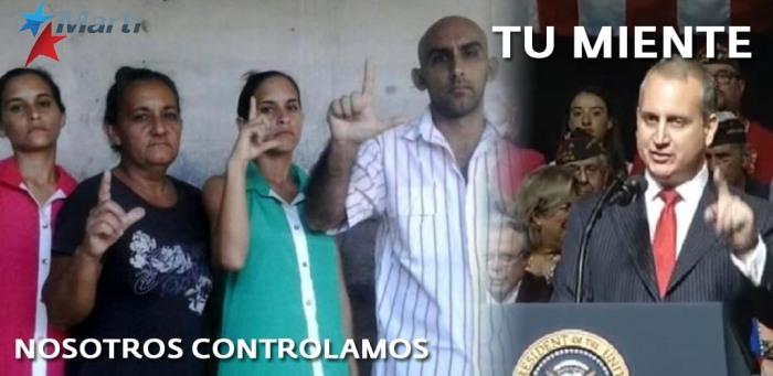 Otra parte del show mediático contra Cuba.