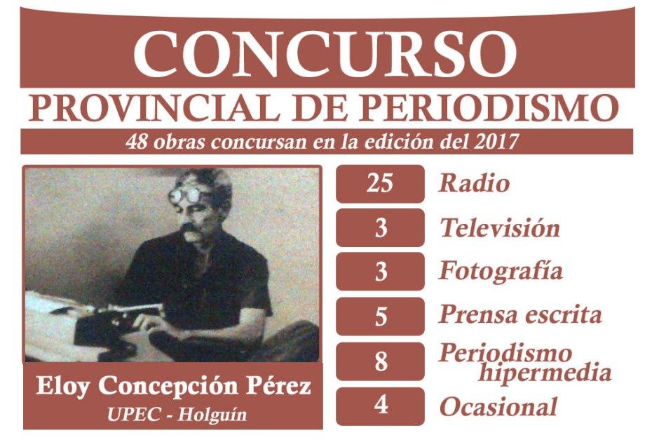 Resumen de las obras presentadas por categorías. Diseño: VdC.
