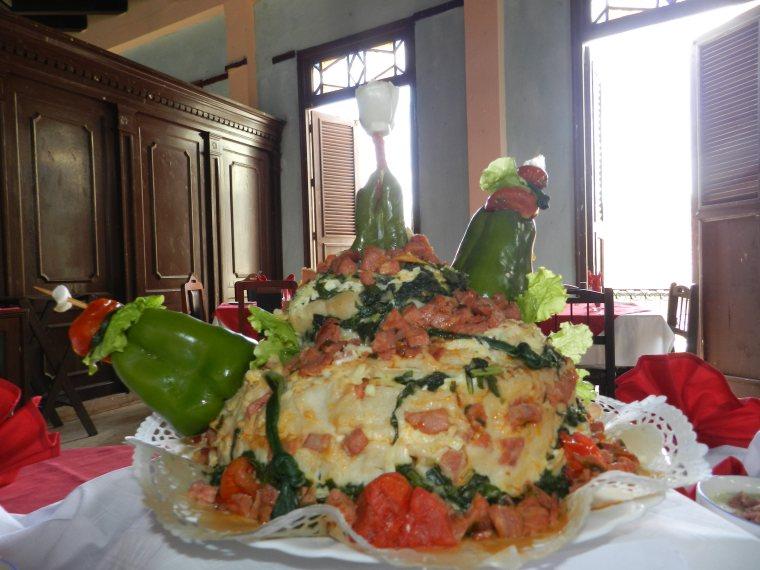 La cocina cubana se caracteriza por su ingeniosidad y belleza. Foto tomada del blog del autor.