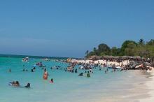 Playa Guardalavaca, una de las más bellas de Cuba. VDC Foto: Luis Ernesto Ruiz Martínez.