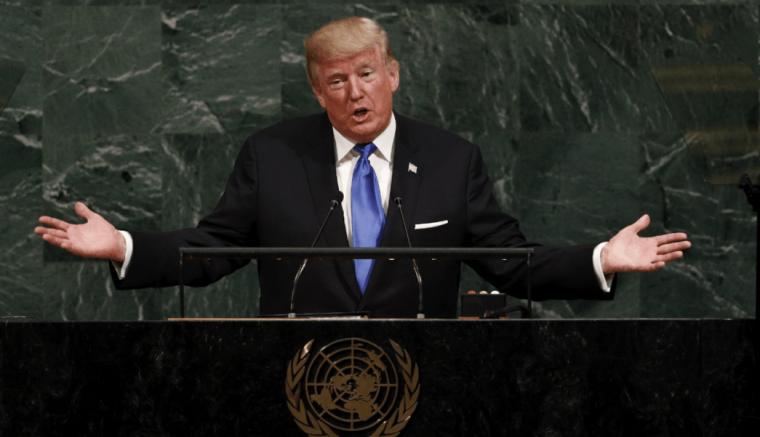Donald Trump arremete contra Cuba en la ONU. Foto: EFE.