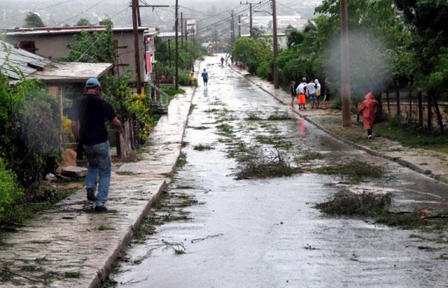 Afectaciones en Banes. Foto: Edilberto Carmona.