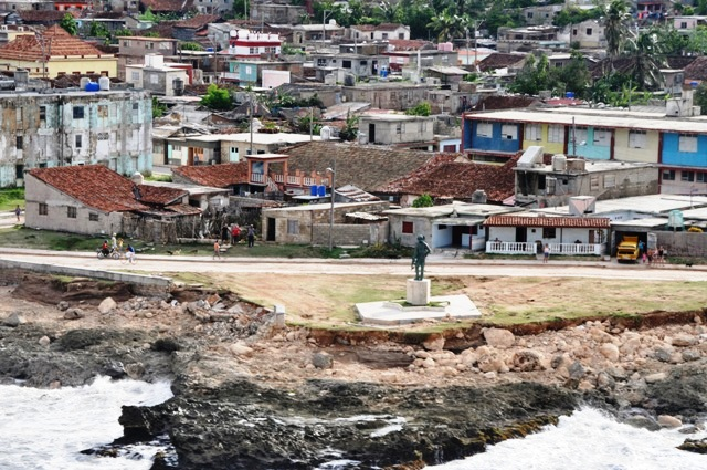 Afectaciones en Gibara. Foto: Juan Pablo Aguilera.