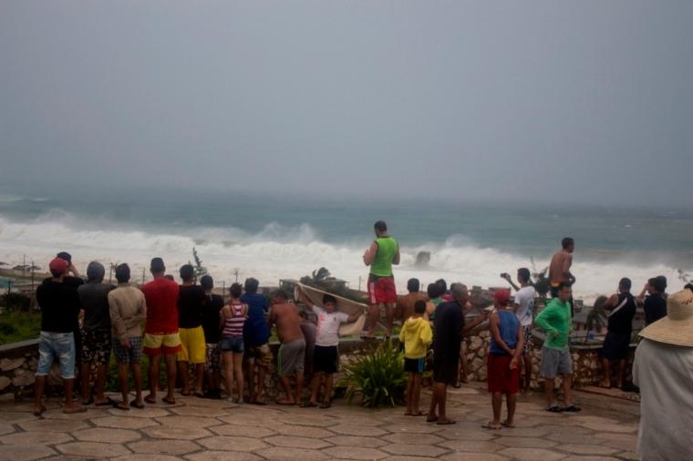 Afectaciones en Gibara. Foto: Torralbas.