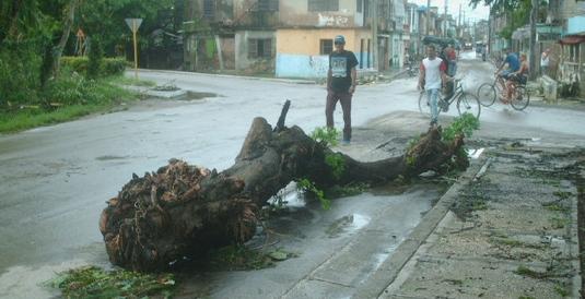Afectaciones en Holguín. Foto: josé Miguel Avila.
