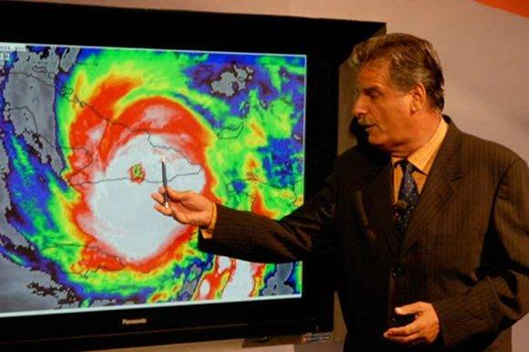 José Rubiera en la Televisión Cubana. Foto de archivo.