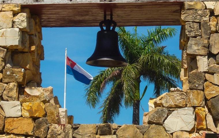 Campana de La Demajagua. Foto: Aileen Infante Vigil-Escalera/Cubahora.