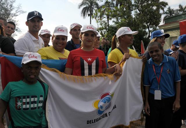 Delegados en La Habana. Foto: Luis Mario Rodríguez Suñol.