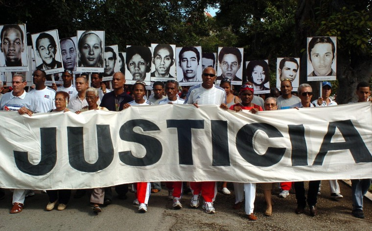 Las víctimas del criminal atentado esperan que se haga justicia.