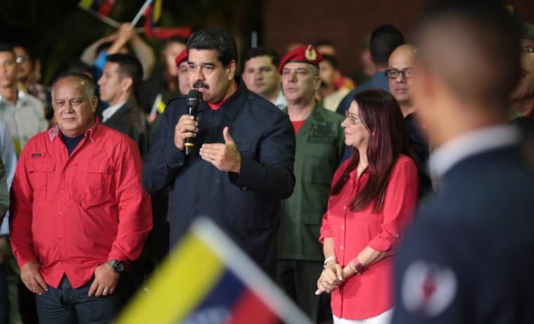 """""""Mi llamado es a la paz porque creo en la paz como único camino"""", afirmó Nicolás Maduro. Foto: Prensa Presidencial de Venezuela."""