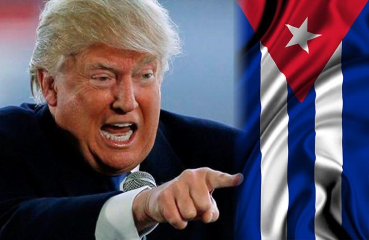 Trump sigue torpedeando las relaciones entre Cuba y Estados Unidos. Foto tomada de internet.