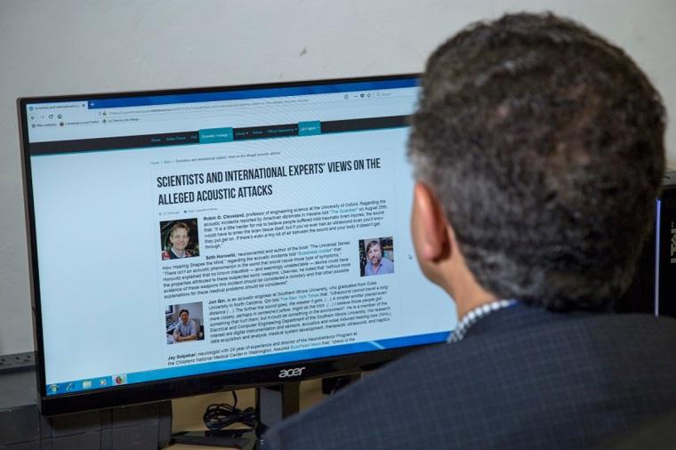 Foro Online Intercambio científico sobre los supuestos ataques acústicos ocurridos en La Habana.