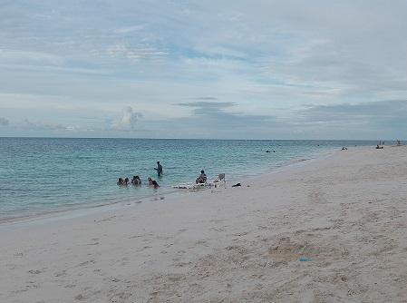 Playa Guardalavaca, lugfar del ataque mortal de un tiburón a un joven holguinero. Foto: Antonio Raúl Oliva Leyva