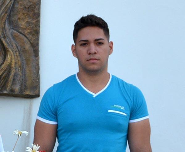 Jorge Enrique Mendoza Sierra, cursa el primer año de Medicina en #Holguín. Foto: archivo VDC.