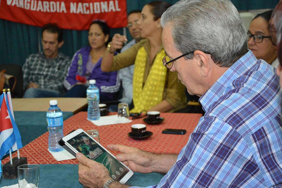En Fotos: visita del Ministro de Educación Superior a Universidad de Holguín