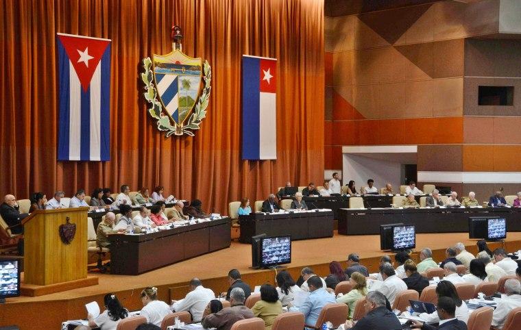 Sesión plenaria del Décimo Período Ordinario de Sesiones de la Asamblea Nacional del Poder Popular, en su VIII Legislatura, en el Palacio de Convenciones de La Habana, Cuba, el 21 de diciembre de 2017. ACN FOTO/Marcelino VÁZQUEZ HERNÁNDEZ